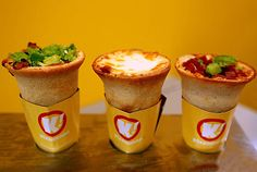 One can't go wrong with a Pizza Cone...