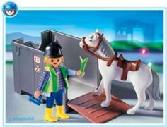 Playmobil Horse Cargo by Playmobil. $13.86. 7.9 x 5.9 x 3 inches. Horse cargo with feeding trough.