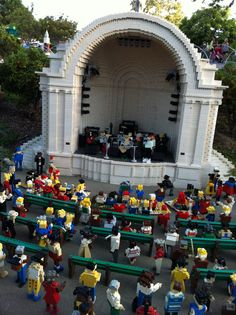 Miniland at LEGOLAND California