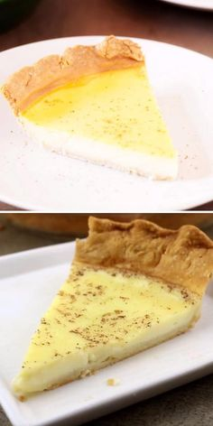 This simple dessert idea has the perfect combination of milk, eggs, sugar, and nutmeg, no one will know how easy it was to prepare this Amish Custard Pie! This homemade dessert recipe deserves a spot on your list of Easter treats! Pin this.