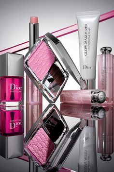 Think pink this spring with #Dior & treat yourself to a stunning glow and natural blush #SaksBeauty