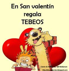 Para San Valentín, regala tebeos