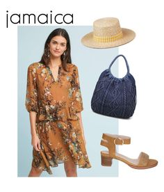 """jamaica - tan"" by yasmine-pearse on Polyvore featuring dRA, Moda Luxe and ladiesfashion"