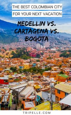 All of these major cities are famous cities so you can't go wrong with any. You might even compare Medellin vs Bogota or Cartagena vs Bogota or Cartagena vs Medellin. It doesn't matter which of these popular cities you compare to the others and how you compare them – what matters is that you want to know which one to head out to given limited time and resources. Colombia Travel, Brazil Travel, Argentina Travel, Peru Travel, Africa Travel, Solo Travel, Travel Ideas, Travel Inspiration, Travel Tips