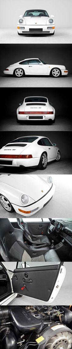 1991 Porsche 911 Carrera RS / Germany / 964 / white