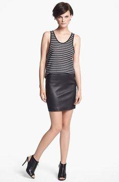 Love this brand! T by Alexander Wang Tank & Skirt