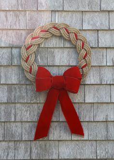 Maine Rope Wreath