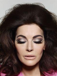 Nigella Lawson Makeup, Wedding Hair And Makeup, Hair Makeup, 1960s Makeup, 1960s Wedding, 1960s Hair, Beauty And The Best, Glamour Makeup, Big Hair