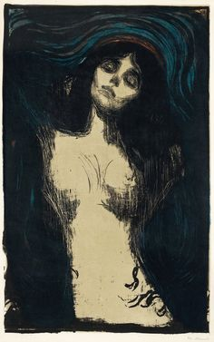 """MADONNA"" (1895–1902) - Artist Edvard Munch"