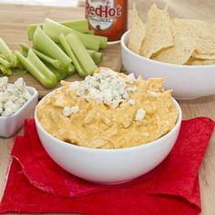 Wish i had some of this watching Auburn today!  Buffalo Chicken Dip {Sweet Pea's Kitchen}