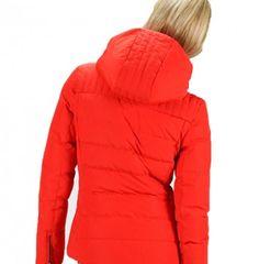 VESTE IZIA FUSALP ski hiver pour femme orange capuche La veste matelassée  IZIA est développée dans une matière technique laminée avec une membrane ... 0d97b923571