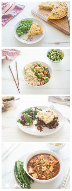Weekly Meal Plan Menu | Week of 1/23/17 via @cooksmarts