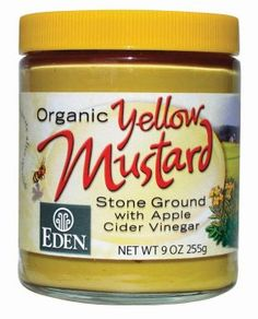 Eden Foods Yellow Mustard Glass (12x9 Oz) *** Discover this special product, click the image : Dinner Ingredients