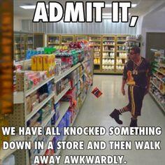 I will not deny I did it.... but I am walking away like I didn't lol.