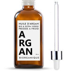 Huile d' Argan 100% Bio, Pure et Naturelle - 50 ml - Soin pour Cheveux, Corps…