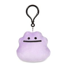 Now you can decorate your backpack or purse with this Ditto Secret Base Poké Doll keychain! It's a rounder, soft style, just like the Poké Dolls found in Pokémon video games. Pokémon Center Original design.
