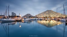 https://flic.kr/p/ryD2uy | Blue Hour, Marina baie des anges | Follow me on FACEBOOK | 500PX | FLICKR