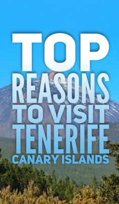 Tenerife holidays – your affordable alternative! Tenerife (Canary Islands) is a great holiday destination with year round sunny weather. It's popular among tourists and has a lot to offer Europe On A Budget, Europe Travel Tips, Spain Travel, European Travel, Croatia Travel, Travel List, Africa Travel, Hawaii Travel, Italy Travel