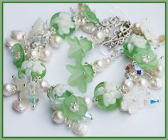 SWEET IRISH ROSE Pastel Green CAMEO ROSES by shalayneoriginals