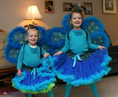 Peacock Sisters - 2013 Halloween Costume Contest via @costumeworks