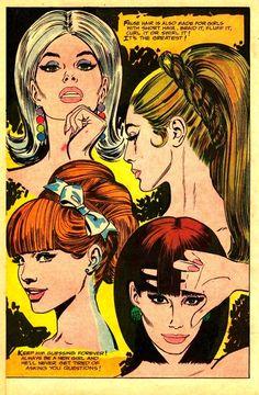 """""""False Hair...It's the Greatest!"""" ~ 1960s"""