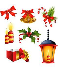 Christmas ornamentation vector
