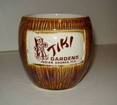 Tiki Hawaii, Tropical Paradise, Wine Glass, Coconut, Mid Century, Mugs, Tableware, Life, Dinnerware