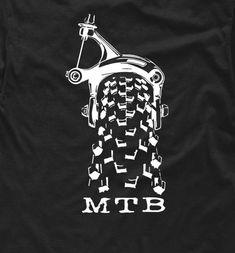 MTB t-shirt Gift Bikers mountain bike Downhill cycling xc bicycle single track S - Mtb Downhill, Bike Shirts, Bicycle Art, Bicycle Design, Mountain Biking, Gifts For Kids, Accessories, T Shirt, Bike Logo