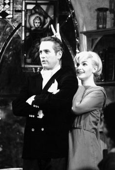 Paul Newman and Joanne Woodward :-)