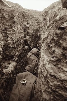UNIT 2 - Many men killed in the trenches were buried almost where they fell. - The open space between two sets of opposing trenches became known as No Man's Land because no soldier wanted to traverse the distance for fear of attack. - Their most important task was digging the trenches in WW1.