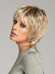 Color Champagne-Rooted = Light Beige Blonde, Medium Honey Blonde, and Platinum Blonde blend with Dark Roots