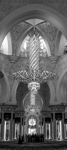 Inside the Grand Mosque, Abu Dhabi 2 par julian john