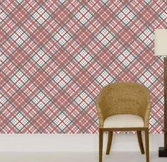 cole+and+son+vivienne+westwood+wallpaper+tartan+plaid+red
