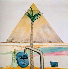 Rare David Hockney Egyptian painting set for £3.5 million Christie's sale