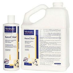 Ketochlor shampoo & rinse for those aggravating schnauzer bumps