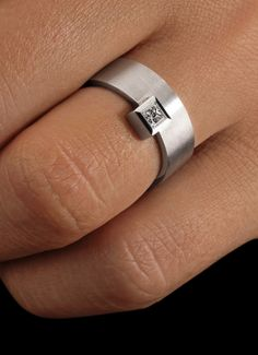 Solitaire-Ring-Krone