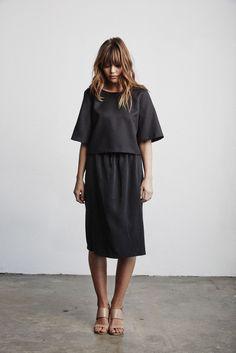 Black linen?