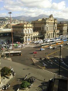 Stazione Genova Brignole en Genova, Liguria