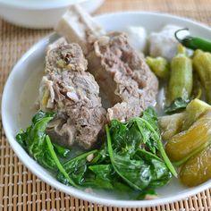 Beef Ribs Sinigang With Kamias Bilimbi