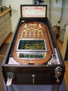 Vintage Pinball 1930s | ... pinball machine is considered the most collectible 1930s vintage