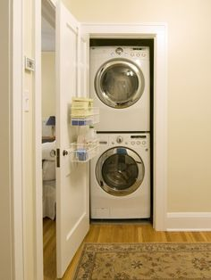 Small Laundry Closet Design Pictures Remodel Decor And Ideas