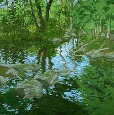 Maine Woodland.png - Neil Welliver