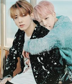 Jungkook / Jimin [Jikook] - Wings: you never walk alone **montagem**