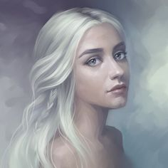 comamorecomgroselha:  Daenerys Targaryen                                    | She kinda looks like Ciri from The Witcher 3