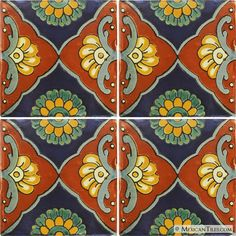 Mexican Tile - Tapalpa 1 Mexican Tile