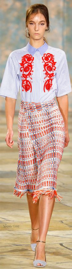 Tory Burch Spring 2016 | House of Beccaria~