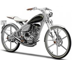 Yamaha Y125 MOEGI Hybrid Motorcycle Bicycle