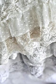 ruffles and lace will do it everytime!