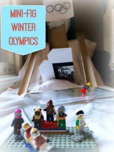 WeeWork Activities: DIY Mini-Fig Winter Olympics