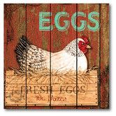Found it at Wayfair - Farmhouse Canvas Fresh Eggs Gallery Wrapped Canvas